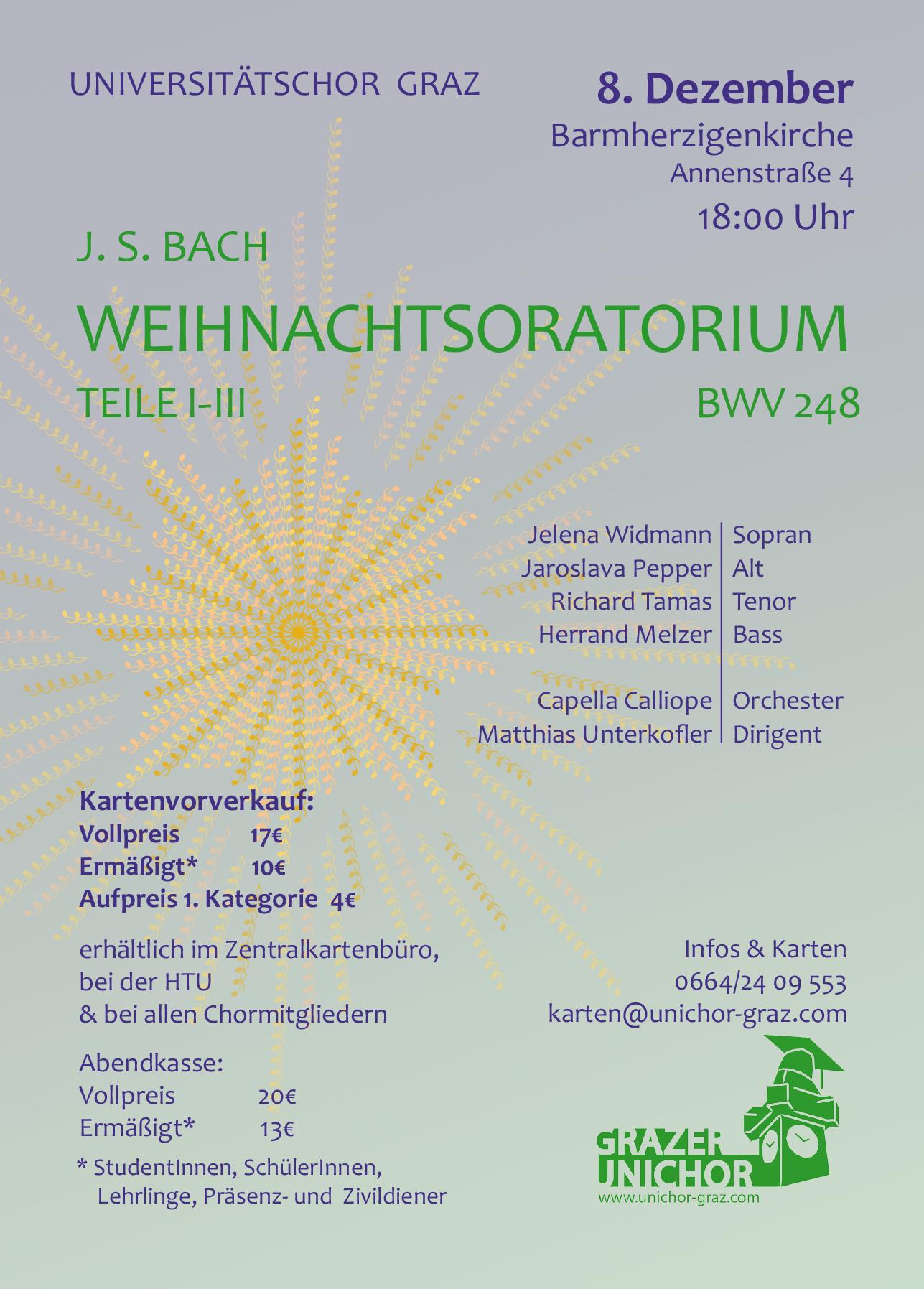 Herzliche Einladung zum nächsten Konzert! - Jaroslava Pepper